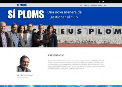 Sí Ploms – Candidatura a les eleccions el 19D del CN Reus Ploms