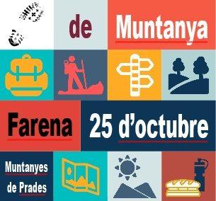 Llibret i cartell del 51è Dia del camí de muntanya